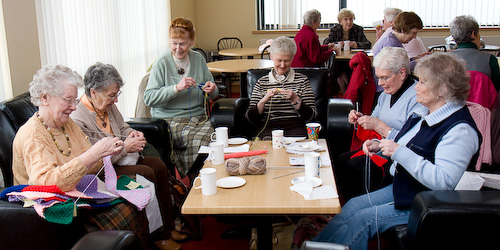 Bethany Baptist Bangor NI Knitting Workshop 1