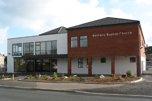 Bethany Baptist Church from the Outside